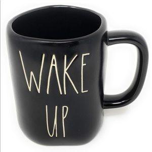 Rae Dunn { Wake Up } Ceramic Artisan Coffee Mug